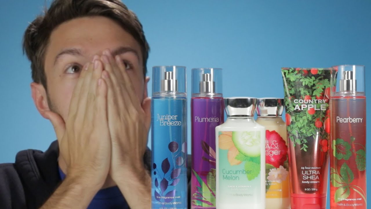 Men Review 90s Bath Body Works Scents Youtube