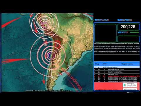 8/03/2017 -- East Coast USA / Virginia Earthquake activity -- Forecast area hit as expected