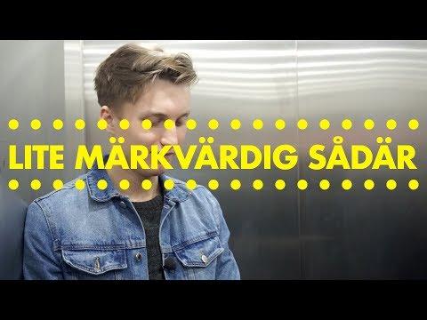 LITE MÄRKVÄRDIG SÅDÄR