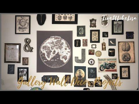TEEN BOY BEDROOM SERIES | 5 Easy DIY Gallery Wall Projects