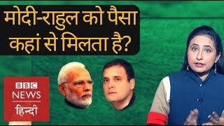 How BJP and Congress get money to fight elections (BBC Hindi)