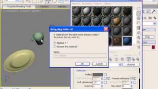 Стекло для бокала и фарфор для чашки в 3DS Max (30/32)