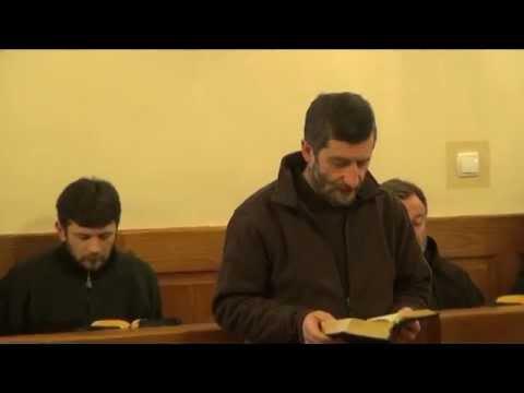 br. Jacek Kania OFMCap - katecheza na jutrznii
