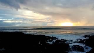 Beautiful Hawaii Sunset on Leeward Side, Waianae