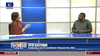 2019 elections analysing list of candidates released by inec