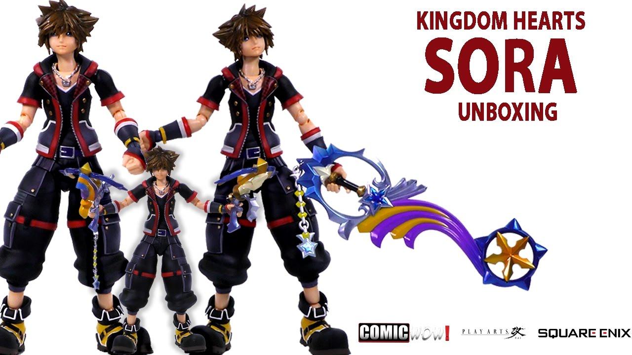 Kingdom Hearts III Sora Unboxing Square Enix