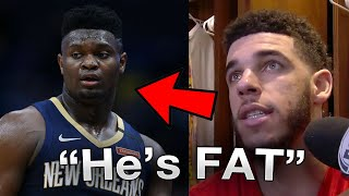 Zion Williamson & Lonzo Ball Have a HUGE PROBLEM in the NBA BUBBLE ( FT. Zion Williamson, Lonzo)