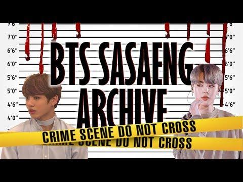BTS Sasaeng Archive
