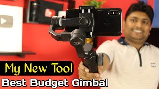 Zhiyun Smooth 4 Gimbal Stabilizer Unboxing & Review | Best Budget Gimbal For Smartphone