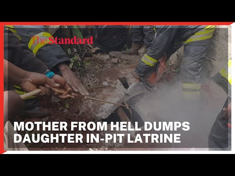 Mother from Hell: One-day old baby thrown into a pit latrine by mother rescued in Nyeri