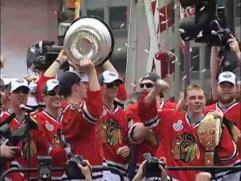 Chicago Blackhawks Championship Parade and Rally part 6 of 6
