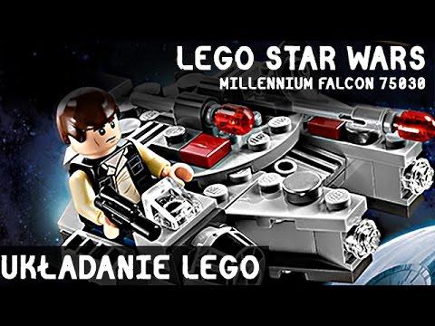 Układanie Klocki LEGO STAR WARS MILLENNIUM FALCON 75030 | Budowanie Klocków LEGO | Zabawki Lego from YouTube · Duration:  17 minutes 16 seconds