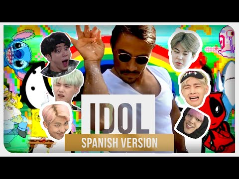 BTS 방탄소년단 - IDOL Spanish