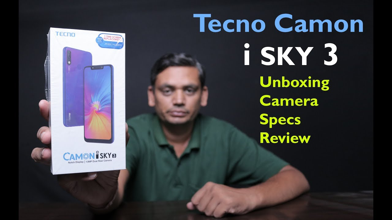 Tecno Camon iSKY 3 Unboxing, Hand On, First Look, Specs with Full Reviews -  Technical Guru Atul