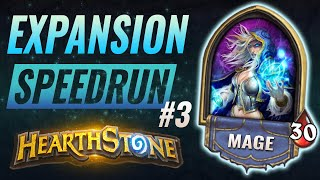Some Freezes, Some Secrets! Hearthstone Expansion Speedrun #3 - Mage | Solem