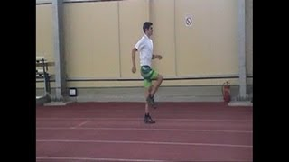 Long jump - Teaching the approach 2/5 (22 running drills)