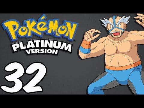 Pokemon Platinum (Blind) -32- Pastoria Gym and Crasher Wake!