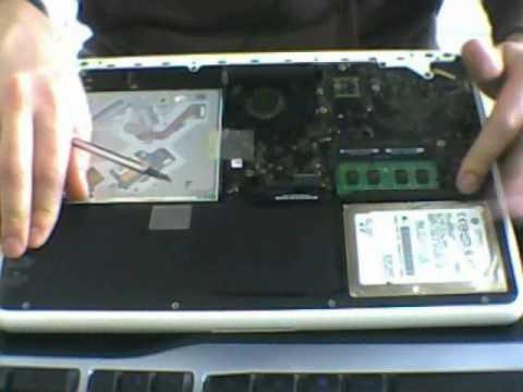 retirer disque dur macbook pro