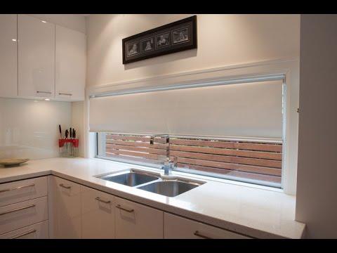 Como elegir cortinas para cocina modernas per decorjade - Cortinas de cocina modernas ...