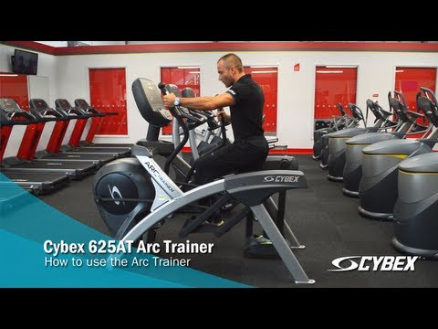 Cybex 625AT Arc Trainer - How to use