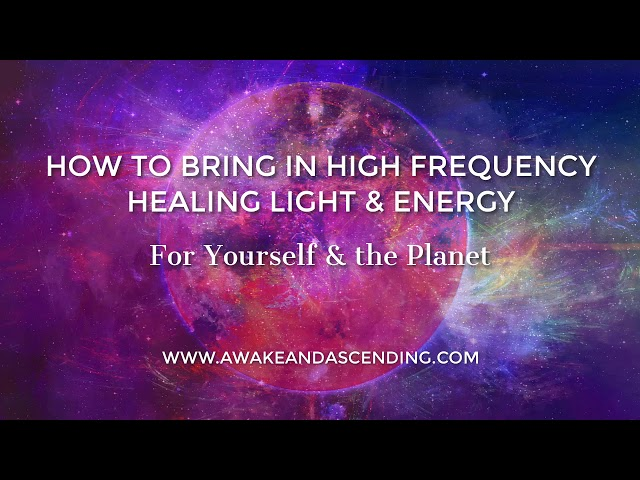 How to Meditate :: How to pull in light from the earth, sun & source and expand it around the world