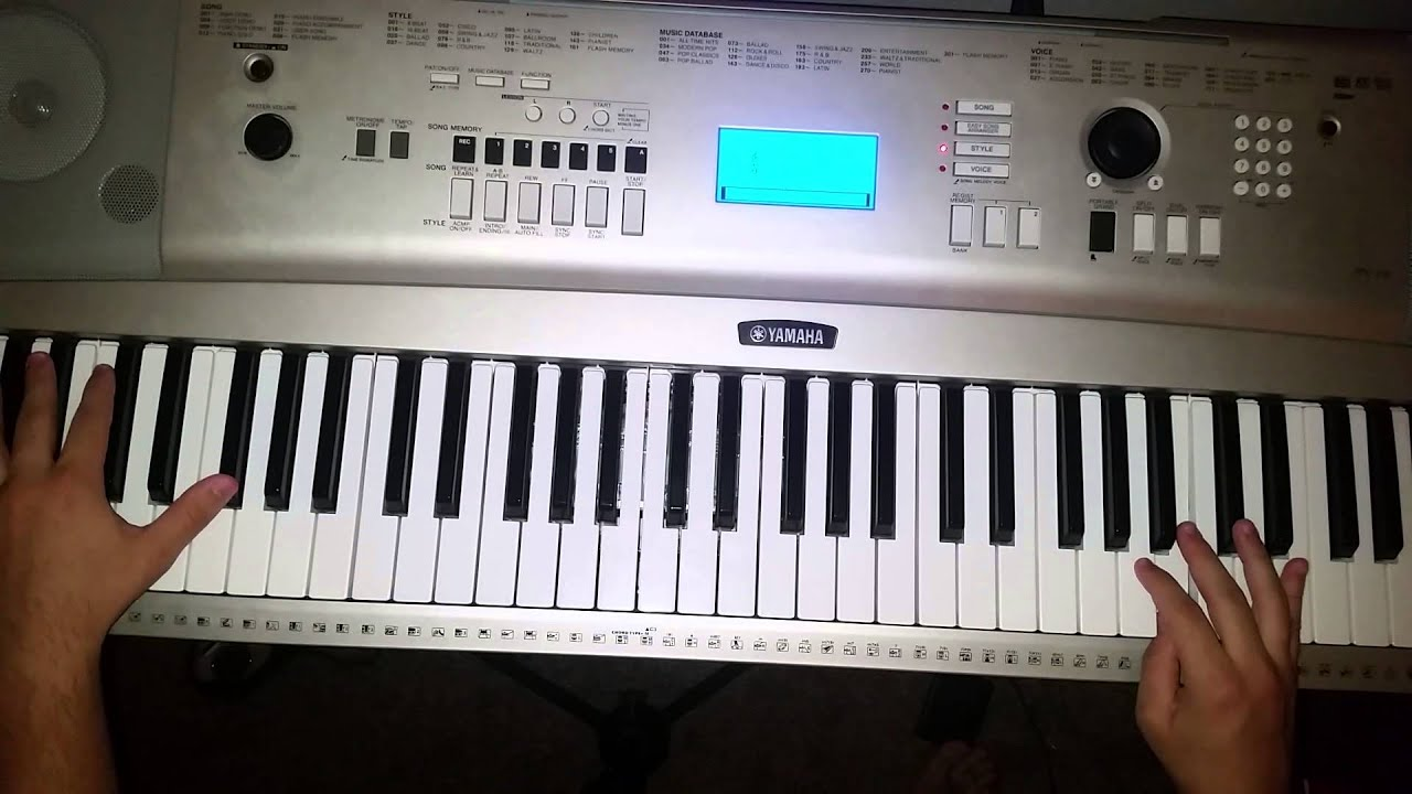 Leona lewis thank you piano tutorial youtube leona lewis thank you piano tutorial hexwebz Images