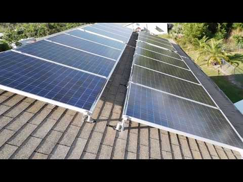 3 kW Solar System, Florida on Green Energy Adventures with the Turbine Guy