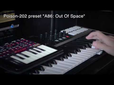Playing the Prodigy on Poison-202 synthesizer