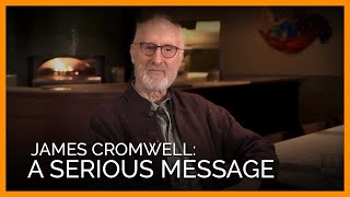 Academy Award–nominated Actor James Cromwell Has a Serious Message About Going Vegan