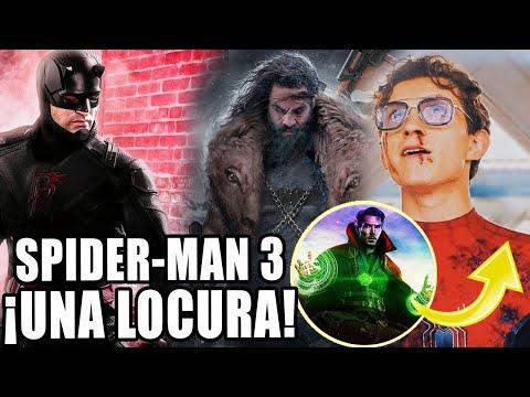 ¡ES DEMENTE! Spider-Man 3 Tom Holland CONFIRMA, Regresan personajes + Kraven, Daredevil y más FANDOM