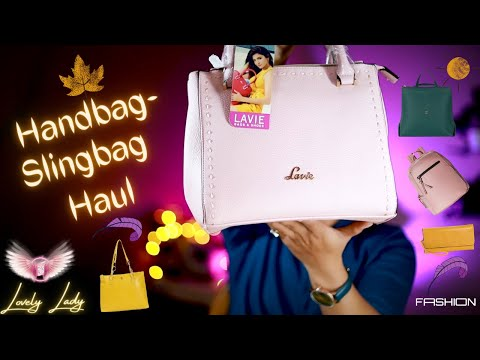 Branded HandBagg / Sling Bags/ Wallet Haul For Office & College at Best Price From AJIO, AMAZON 2021