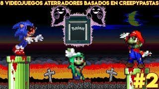 8 Videojuegos Aterradores Basados en Creepypastas (PARTE 2) - Pepe El Mago