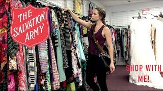 Thrift With Me at Salvation Army! Shop With Me! Filling Up My Decluttered Closet...