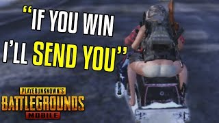 Trying PUBG MOBILE