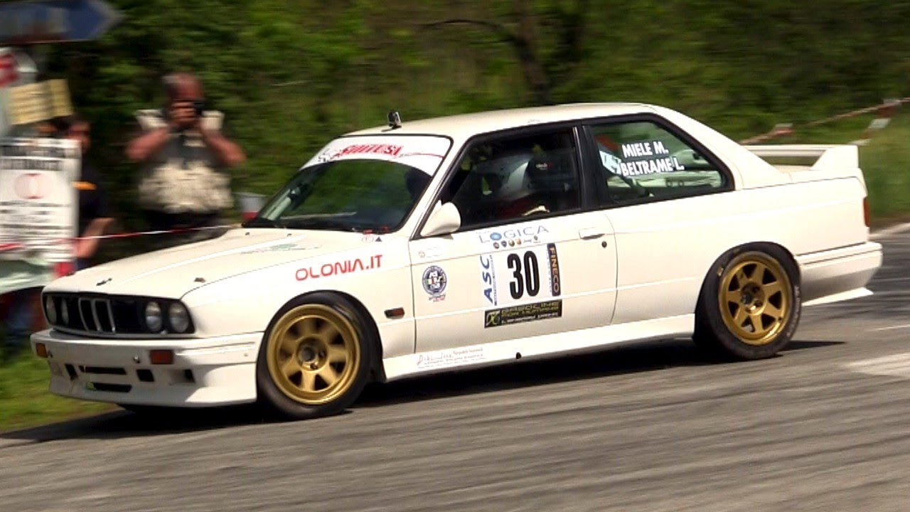 prodrive bmw m3 e30 rally gr. a sound
