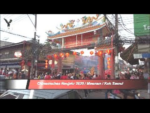 Chinesisches Neujahr 2020 / Maenam / Koh Samui