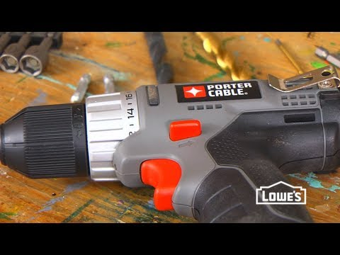 How to Use a Power Drill