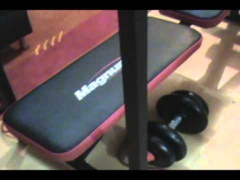 Banco gym casero 4 posiciones columpio extension y for Gimnasio casero