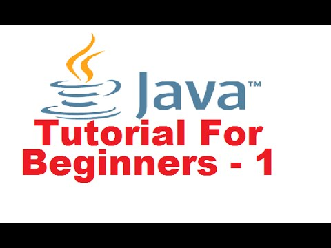 java-tutorial-for-beginners-1---introduction-and-installing-the-java-(jdk)-step-by-step-tutorial