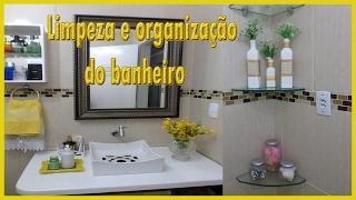 Limpeza e Organização do Banheiro