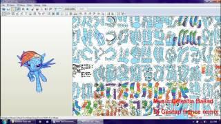 Papercraft My Little Pony Rainbow Dash