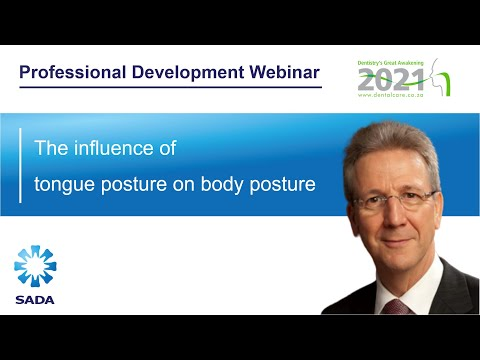 The influence of tongue posture on body posture - Dr John Flutter (WEB85)