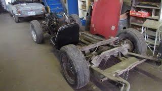 1970 Triumph TR6 Retsoration Project - Part 1 - Frame Repair