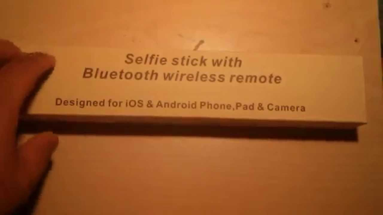 selfie stick and bluetooth remote youtube. Black Bedroom Furniture Sets. Home Design Ideas