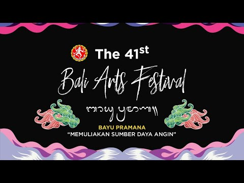 LIVE STREAMING | The 41st Bali Arts Festival Opening Parade