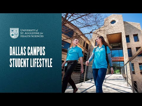 Dallas Campus Student Lifestyle - University of St. Augustine for Health Sciences Video