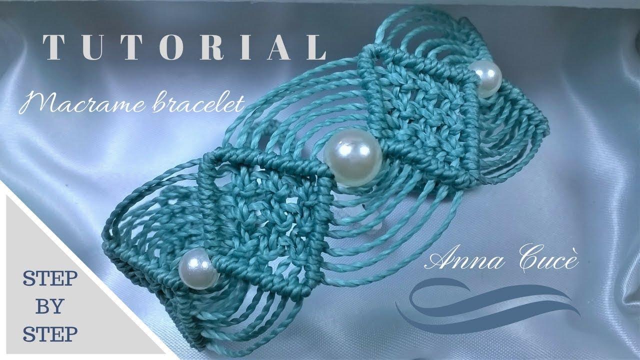 "Molto Tutorial macramè bracciale ""Maya""/ Tutorial macramè bracelet ""Maya  ET39"
