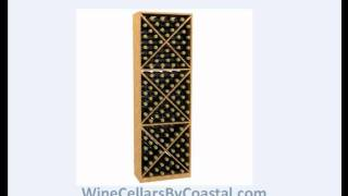 Learn About X-cube - Diamond Bin And Rectacular Case Wood Wine Racks