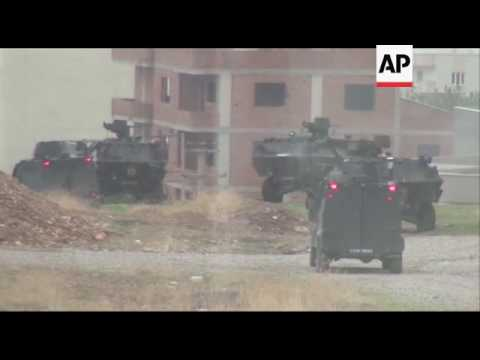 Clashes between Kurds and Turkish troops