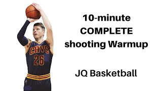 COMPLETE 10-minute Shooting Warmup   JQ Basketball